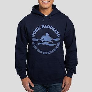 Gone Paddling 3 Hoodie