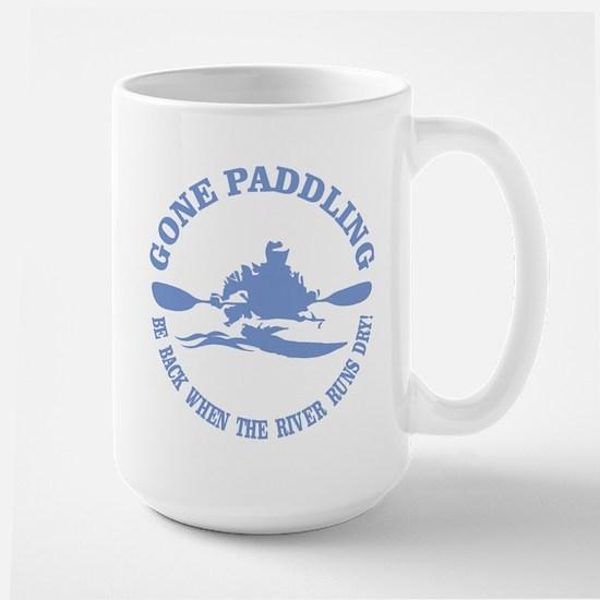 Gone Paddling 3 Mugs