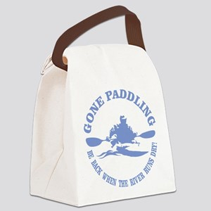 Gone Paddling 3 Canvas Lunch Bag
