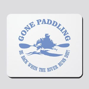 Gone Paddling 3 Mousepad