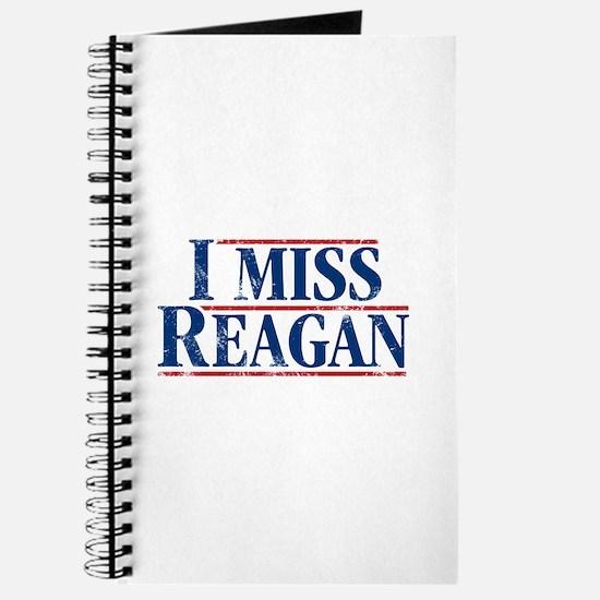 I Miss Reagan, distressed look Journal