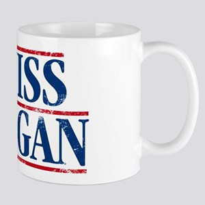I Miss Reagan, distressed look Mugs