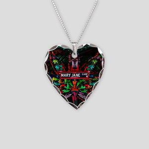 Mary Jane Lane Necklace Heart Charm