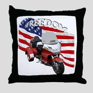 AB08 C-2K FREE RED Throw Pillow