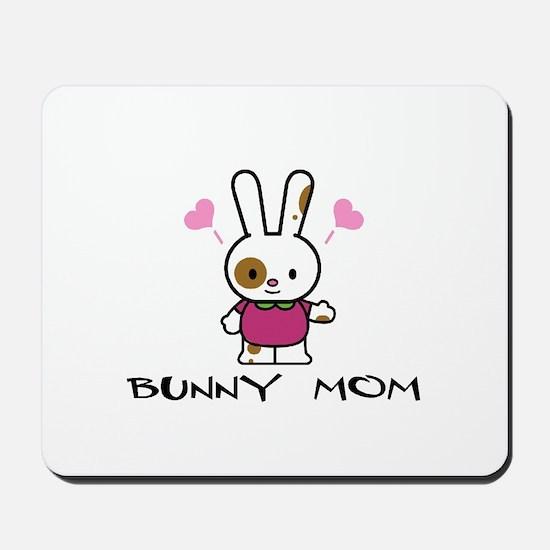 Bunny Mom Mousepad