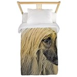 Afghan Hound Twin Duvet Cover