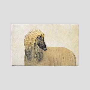 Afghan Hound Area Rug