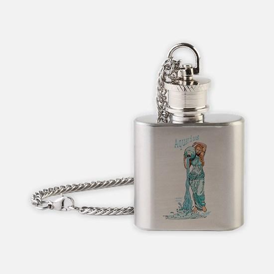 aquarius Flask Necklace