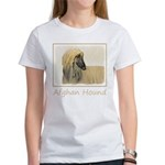 Afghan Hound Women's Classic White T-Shirt