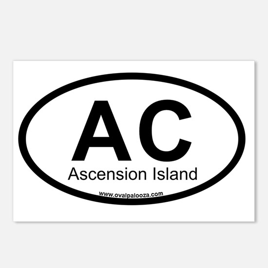 AC-ascension_island Postcards (Package of 8)
