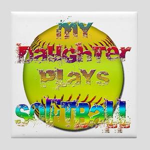 my daughter  Tile Coaster