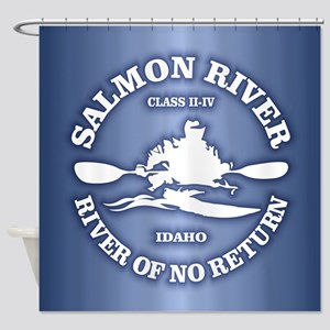 Salmon River (kayak) Shower Curtain