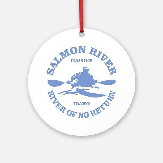 Salmon River (kayak) Ornament (Round)