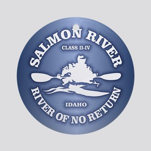 Salmon River (kayak) Ornament (Round)