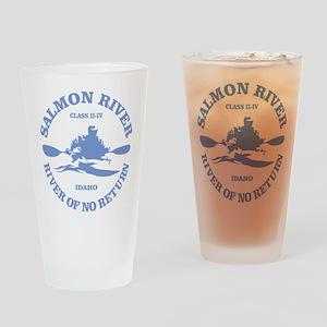 Salmon River (kayak) Drinking Glass