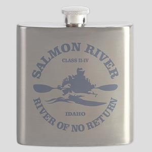 Salmon River (kayak) Flask