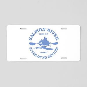 Salmon River (kayak) Aluminum License Plate
