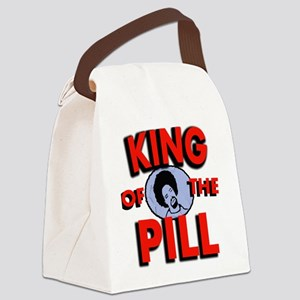 king of the pill copy Canvas Lunch Bag
