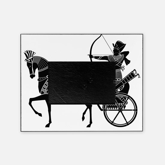 Pharaoh on Chariot Picture Frame