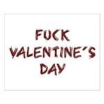 Fuck Valentine's Day Small Poster