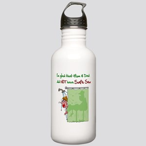 safeSex Stainless Water Bottle 1.0L