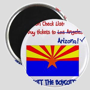 Arizona-Boycott the Boycotter 2c Magnet
