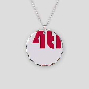 4thjulyshirtdarknodate Necklace Circle Charm