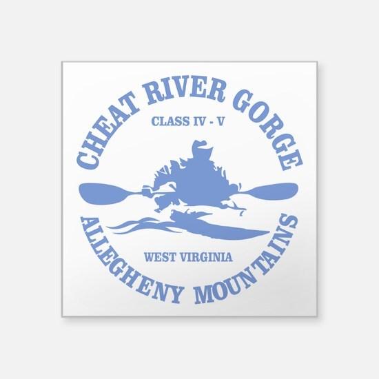 Cheat River Gorge (kayak) Sticker