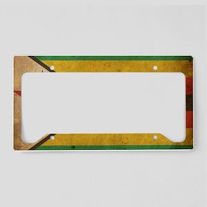 Vintage2Zimbabwe License Plate Holder