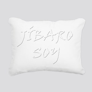 Jibaro soy B Rectangular Canvas Pillow