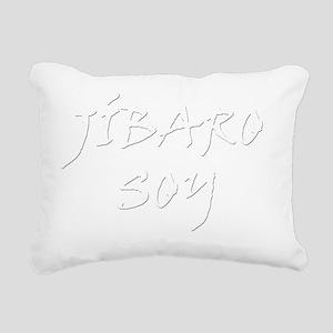 Jibaro soy B Rectangular Canvas Pillow