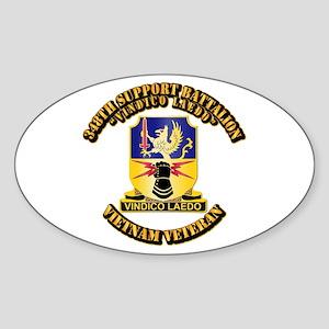 348th Support Battalion Sticker (Oval)
