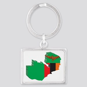 3DZambia2 Landscape Keychain
