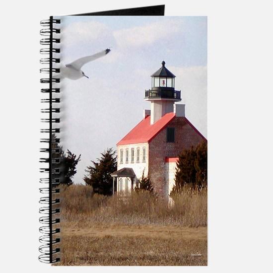 East Point  Light  House 14x10 Large Frame Journal
