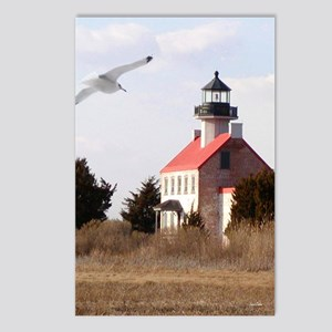 East Point  Light  House  Postcards (Package of 8)