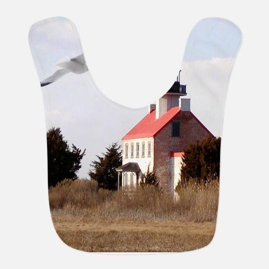 East Point  Light  House 14x10 Large Framed  P Bib