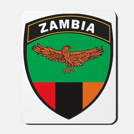 BlackShieldZambia1 Mousepad