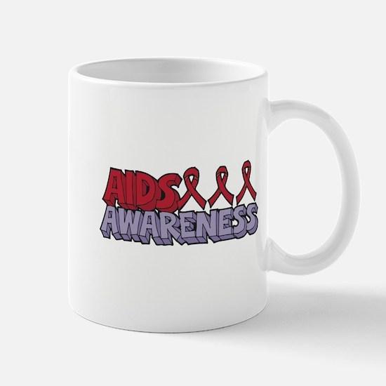 AIDS Awareness Mug