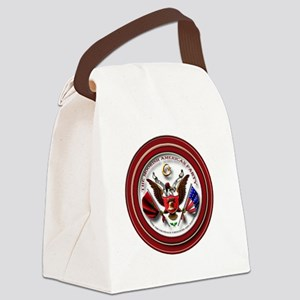 Map Logo1 Canvas Lunch Bag