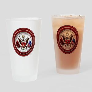 Map Logo1 Drinking Glass