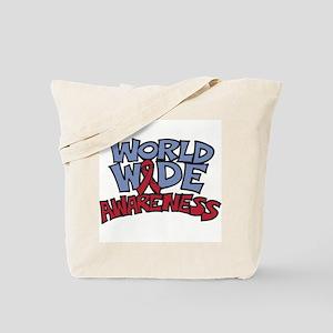 Worldwide Awareness Tote Bag