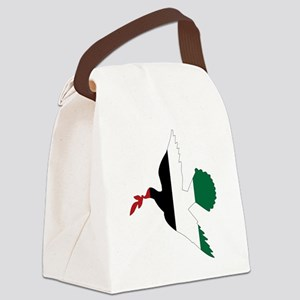 Peace in Palestine Canvas Lunch Bag