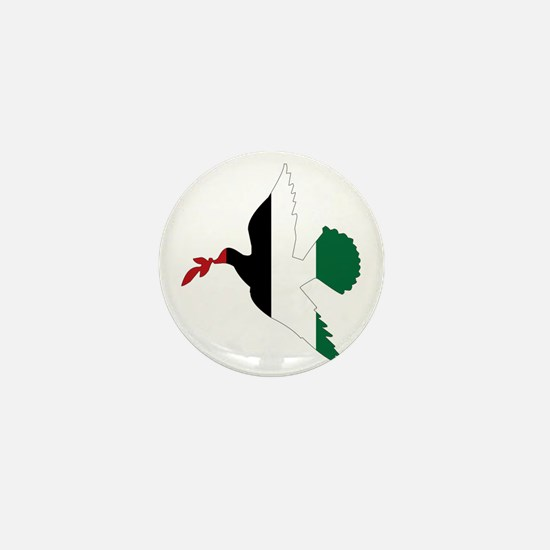 Peace in Palestine Mini Button