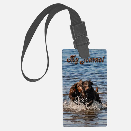 5x8_journal 2 Luggage Tag
