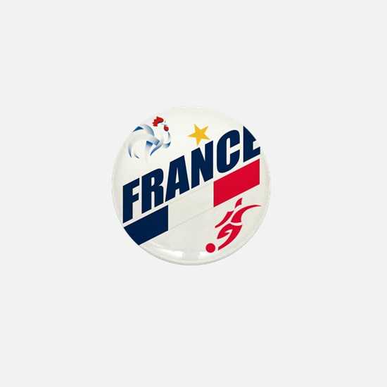 france a Mini Button