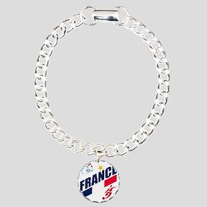 france a Charm Bracelet, One Charm