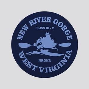 "New River Gorge (kayak) 3.5"" Button"