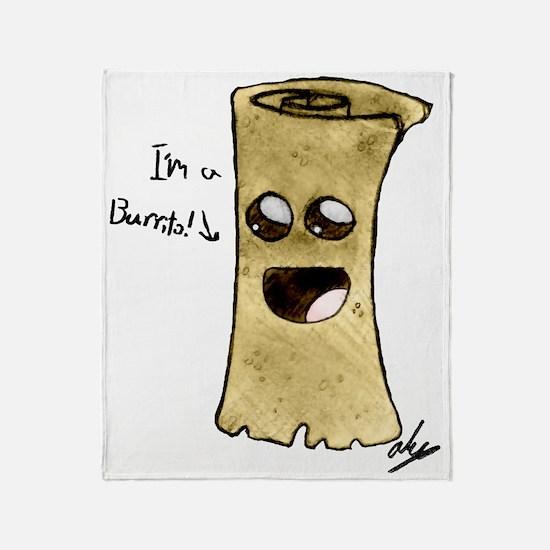 c-burrito Throw Blanket
