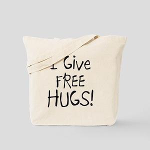 I Give Free Hugs Tote Bag