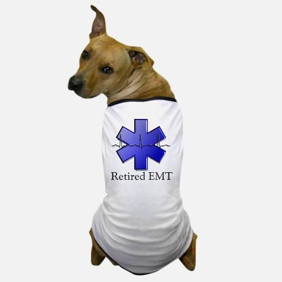 Retired EMT Dog T-Shirt